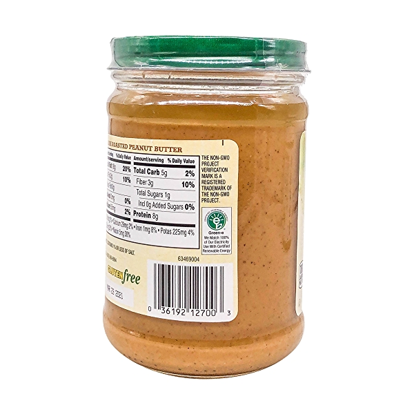 Organic Dark Roasted Creamy Peanut Butter, 16 oz 3