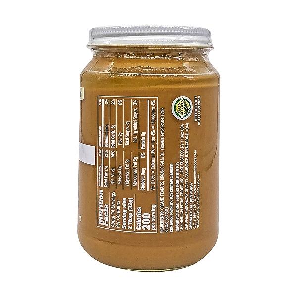 Organic No Stir Peanut Butter, 16 oz 2