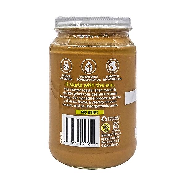 Organic No Stir Peanut Butter, 16 oz 3