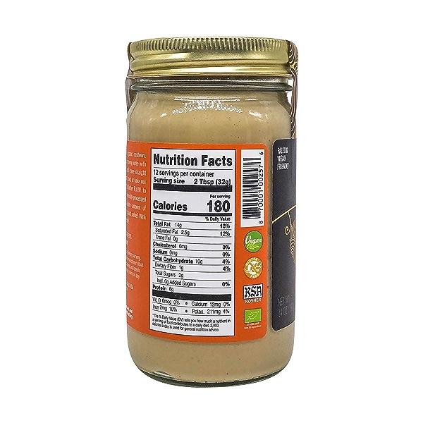 Raw Cashew Nut Butter, 14 oz 2