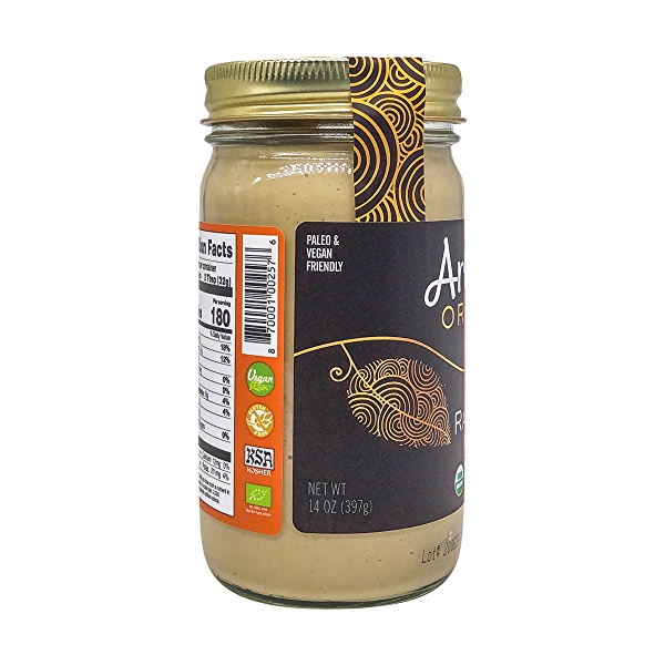 Raw Cashew Nut Butter, 14 oz 4