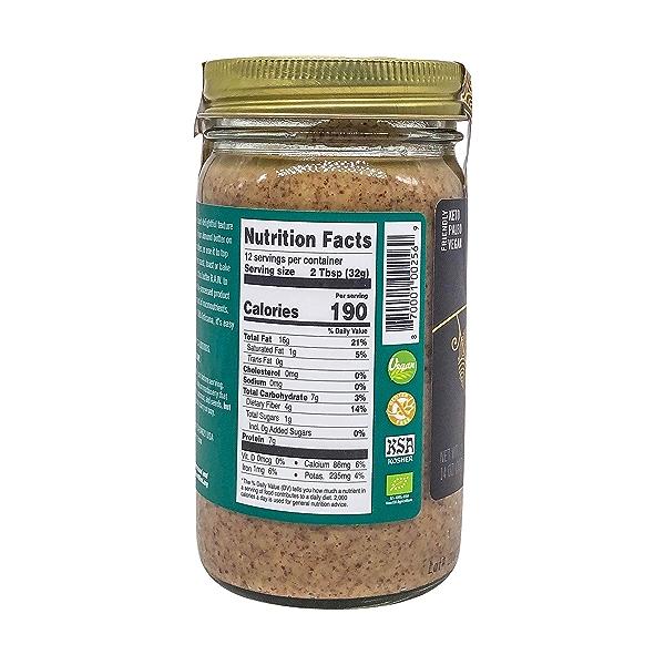 Raw Almond Nut Butter, 14 oz 2