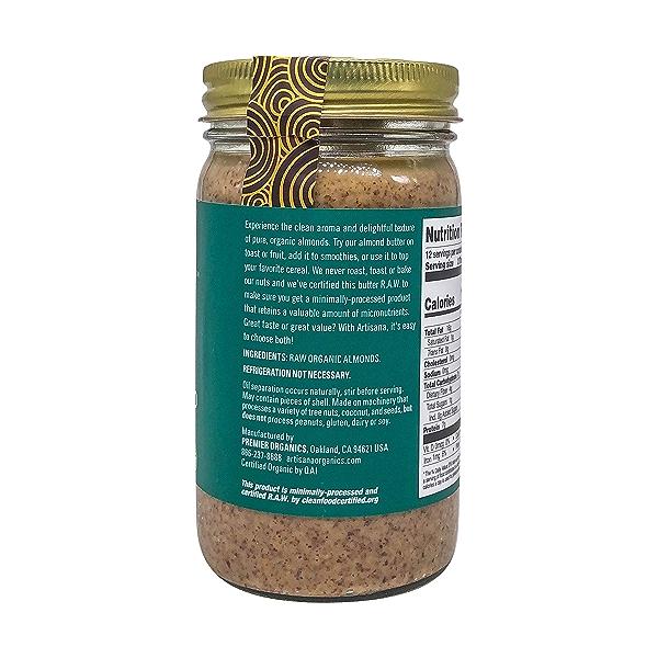 Raw Almond Nut Butter, 14 oz 3