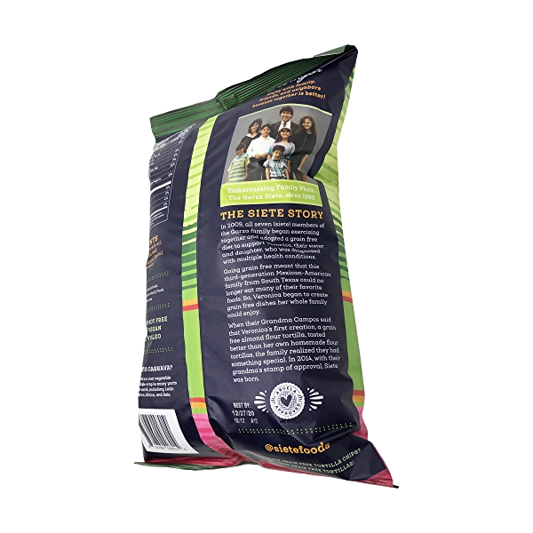 Grain Free Lime Tortilla Chips, 5 oz 5