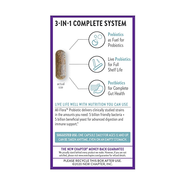 Probiotic All-Flora, 30 capsule 3