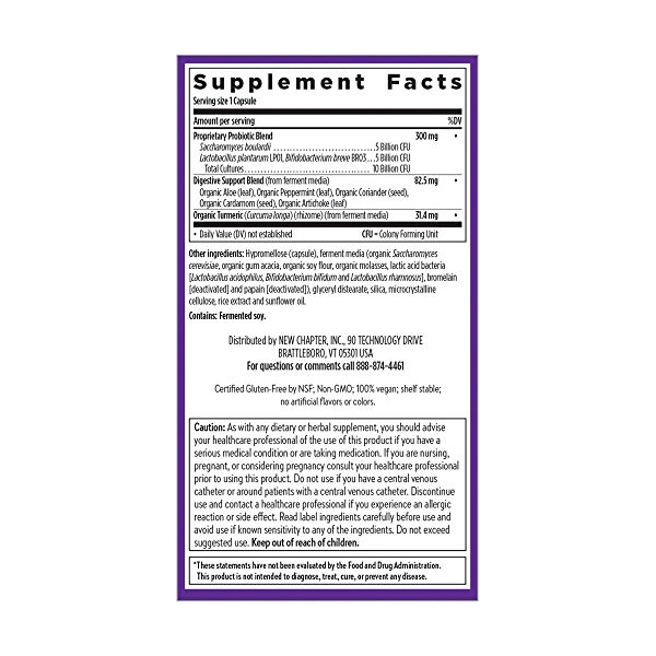 Probiotic All-Flora, 30 capsule 4