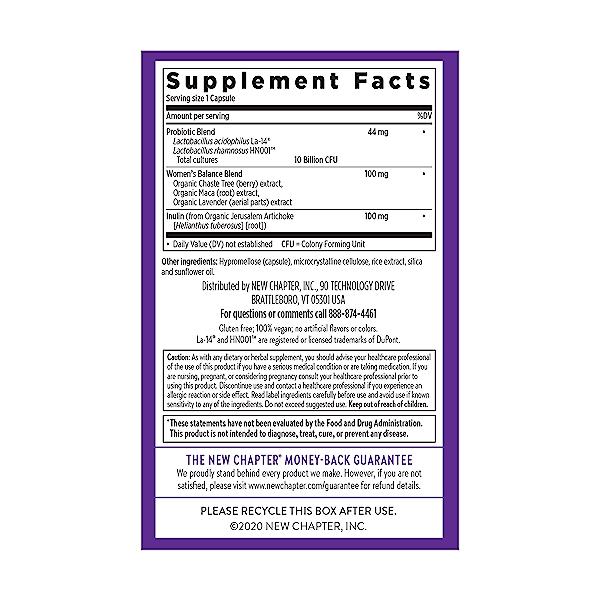 Women's Daily Probiotic, 30 capsule 4