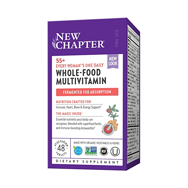 55+ Every Woman™'s One Daily Multivitamin, 48 vegetarian tablets 1
