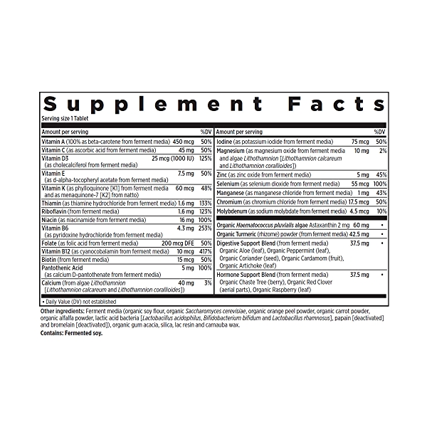 55+ Every Man™'s One Daily Multivitamin, 72 vegetarian tablets 2