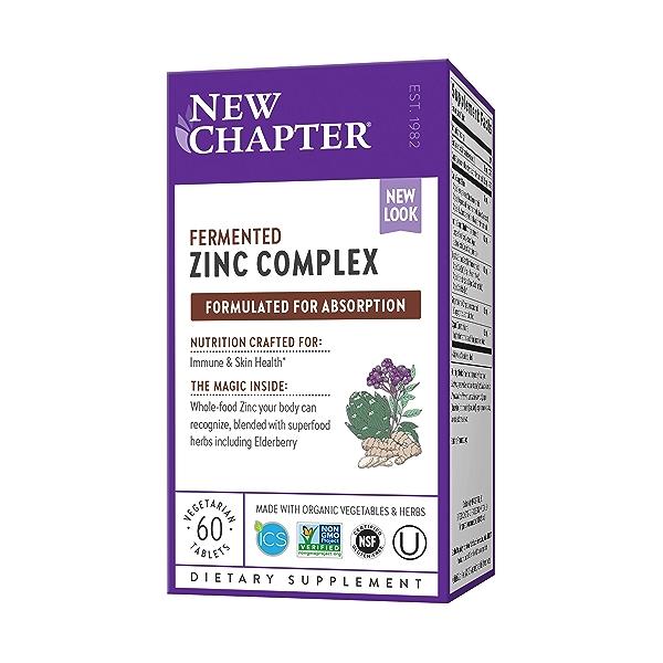 Zinc Food Complex, 60 vegetarian tablets 1