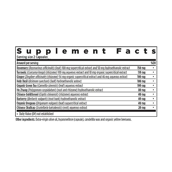 Zyflamend™, 60 capsules 2