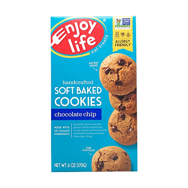 Soft Baked Chocolate Chip Cookies, 6 oz 1