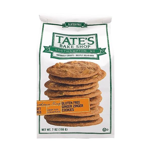 Gluten Free Ginger Zinger Cookies, 7 oz 1