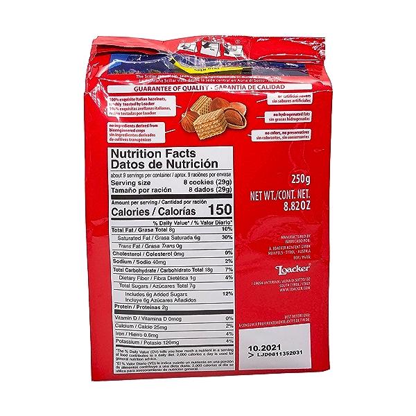Hazelnut Bite Size Wafer Cookies, 8.82 oz 2