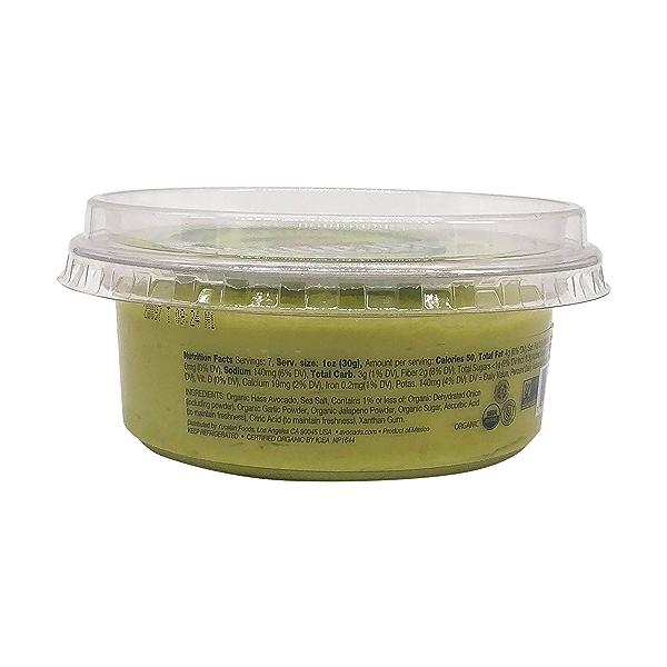 Organic Guacamole, 8 oz 2