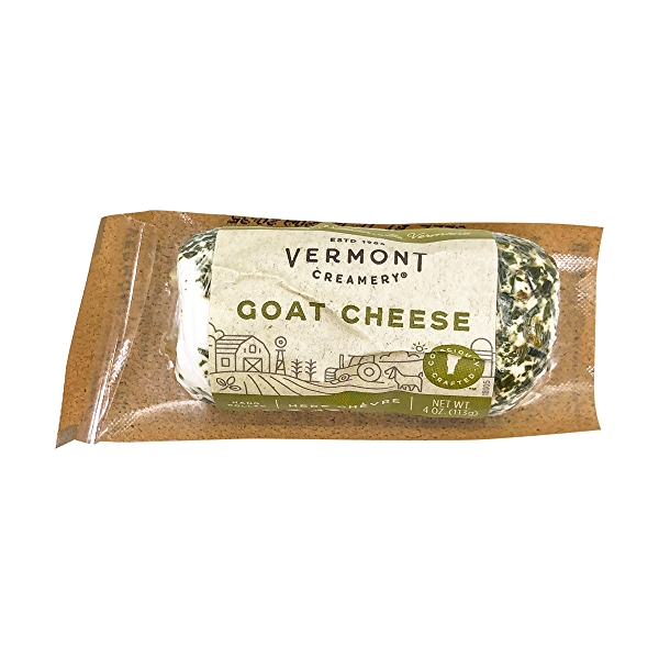 Herb Chevre Fresh Goat Cheese, 4 oz 1