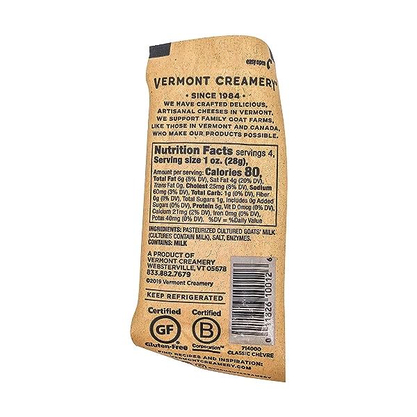 Classic Chèvre Goat Cheese, 4 oz 2