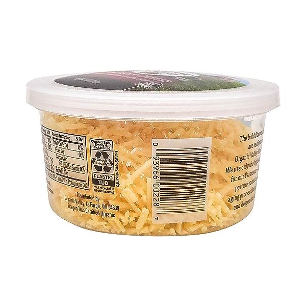 Organic Shredded Parmesan Cheese, 4 oz 3