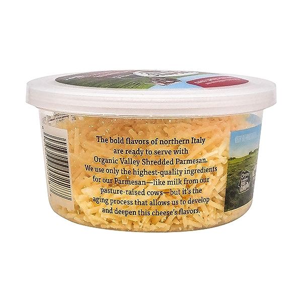 Organic Shredded Parmesan Cheese, 4 oz 4