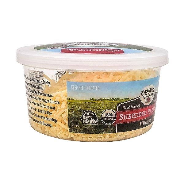 Organic Shredded Parmesan Cheese, 4 oz 5
