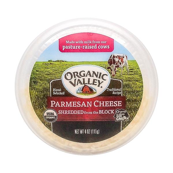 Organic Shredded Parmesan Cheese, 4 oz 6