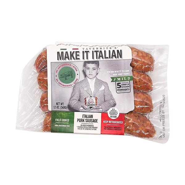 Mild Calabrese Italian Pork Sausage 1