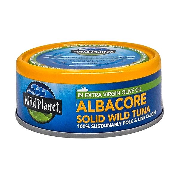 Wild Albacore Tuna In Extra Virgin Olive Oil, 5 oz 1