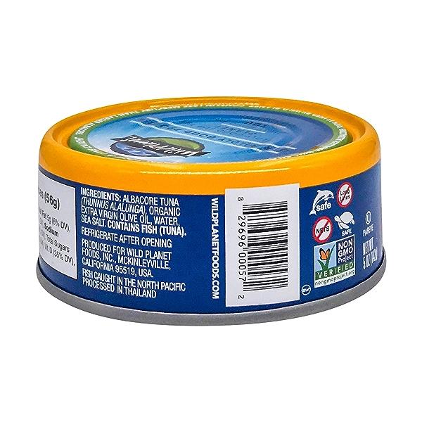 Wild Albacore Tuna In Extra Virgin Olive Oil, 5 oz 3