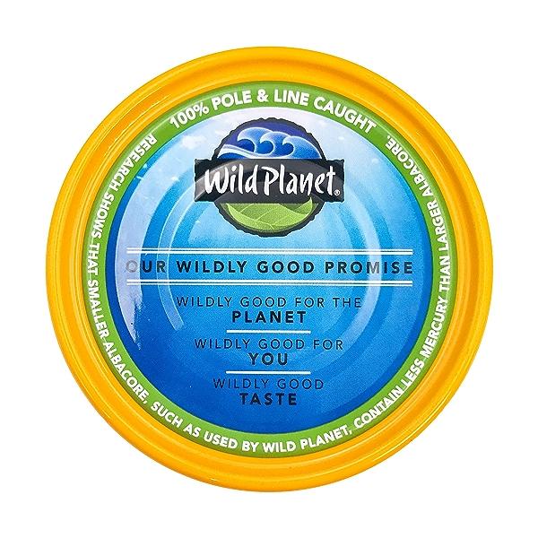 Wild Albacore Tuna In Extra Virgin Olive Oil, 5 oz 4