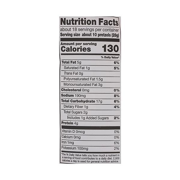 Pretzel Nuggets, Peanut Butter, 18 oz 5