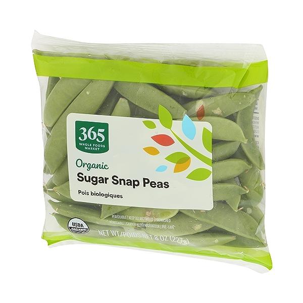 Organic Packaged Vegetables, Sugar Snap Peas 4