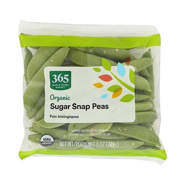 Organic Packaged Vegetables, Sugar Snap Peas 1