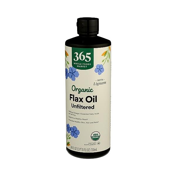 Organic Flax Oil, 24 fl oz 4