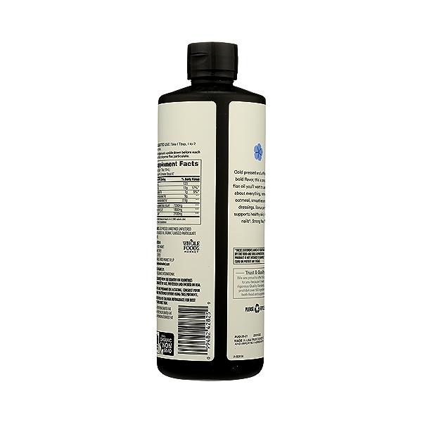 Organic Flax Oil, 24 fl oz 7