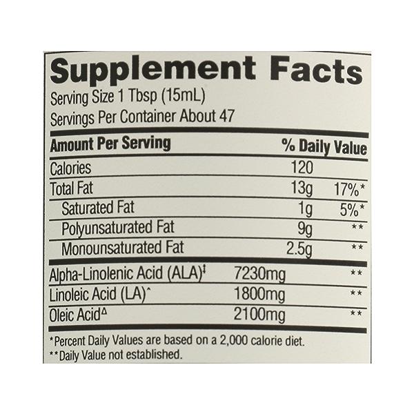 Organic Flax Oil, 24 fl oz 10