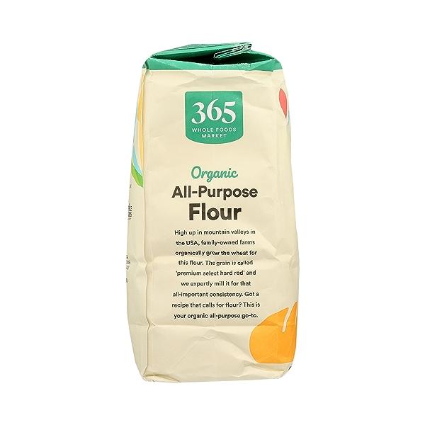 Organic Flour, All-Purpose, 5 lb 2