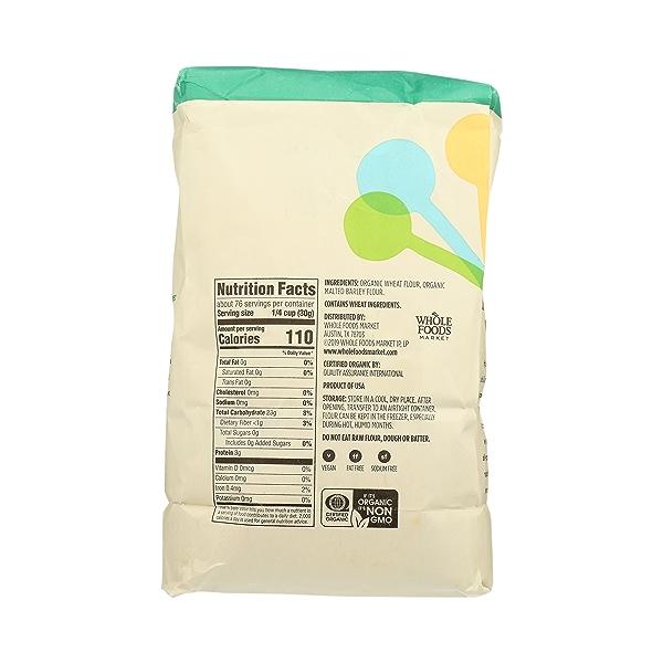 Organic Flour, All-Purpose, 5 lb 4