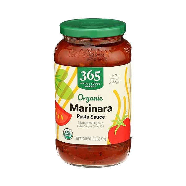 Organic Pasta Sauce, Marinara, 25 oz 2