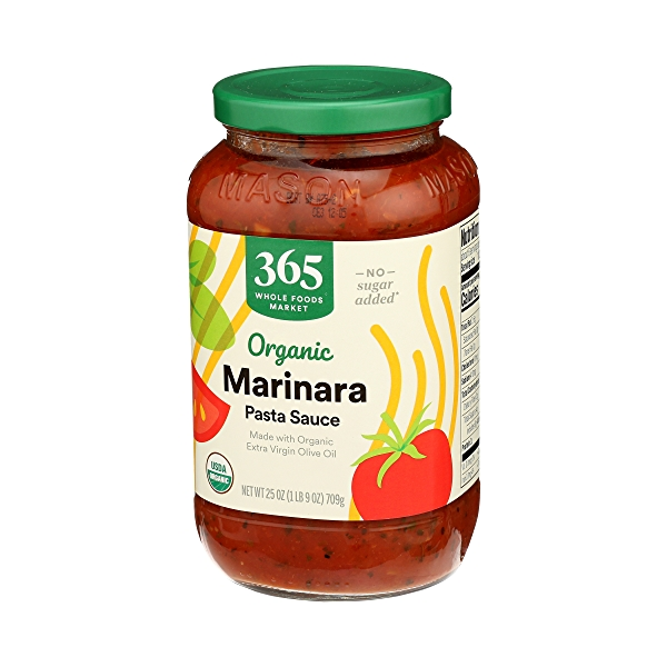 Organic Pasta Sauce, Marinara, 25 oz 4