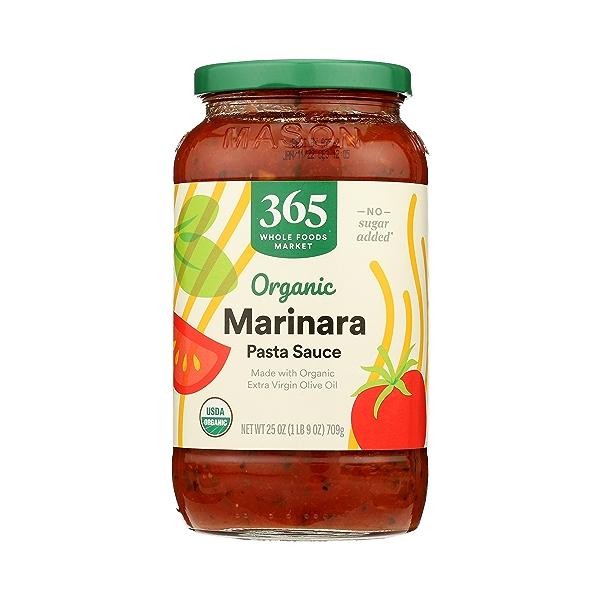 Organic Pasta Sauce, Marinara, 25 oz 1