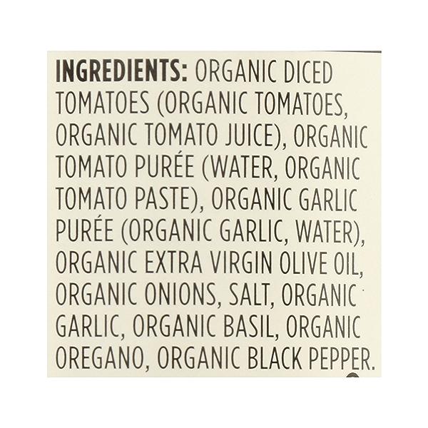 Organic Pasta Sauce, Marinara, 25 oz 12
