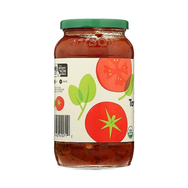 Organic Pasta Sauce, Tomato Basil, 25 oz 5