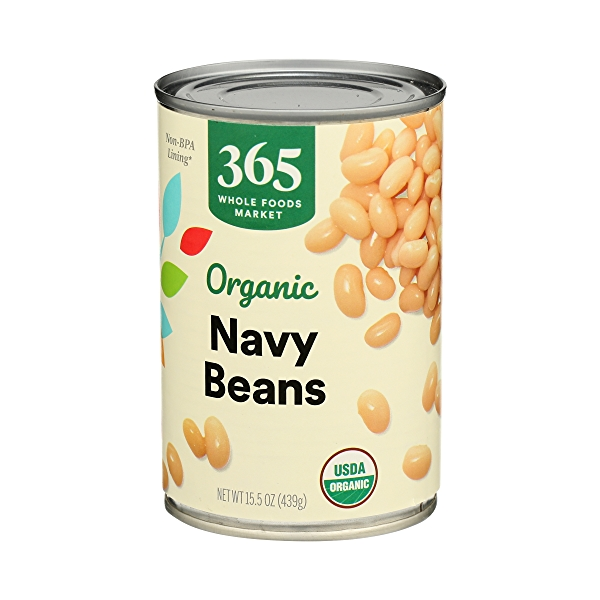 Organic Canned Beans, Navy, 15.5 oz 4