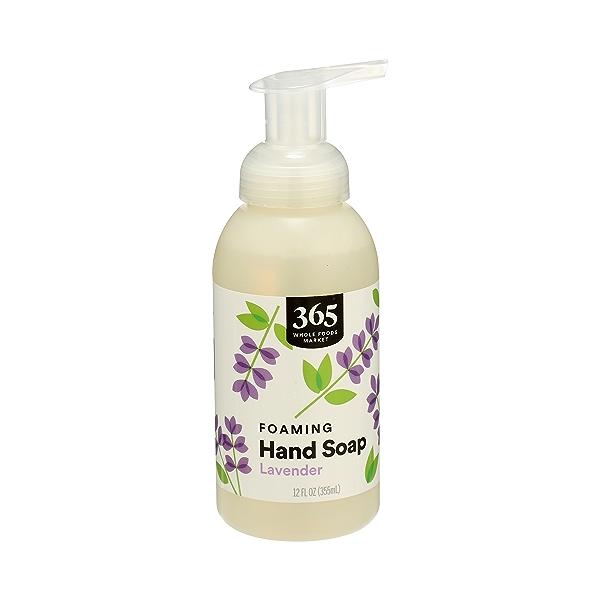 Foaming Hand Soap, Lavender, 12 fl oz 3