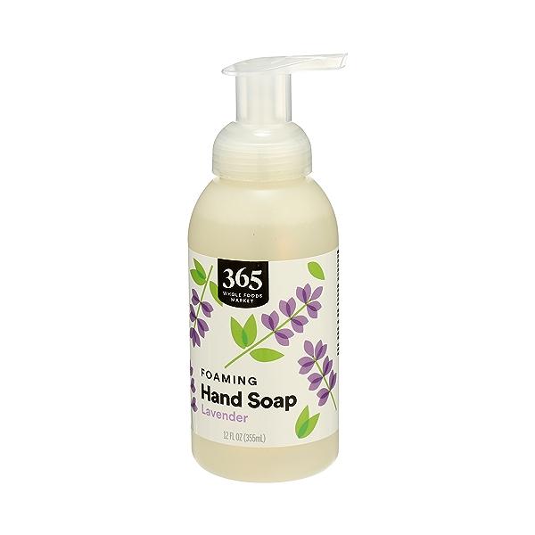 Foaming Hand Soap, Lavender, 12 fl oz 4