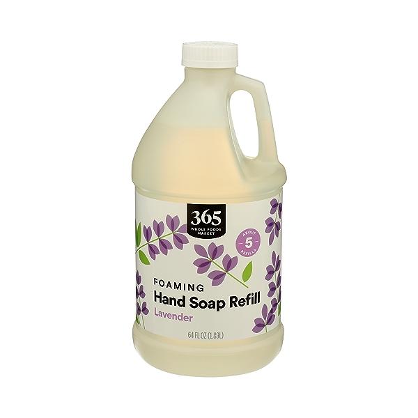 Foaming Hand Soap Refill, Lavender, 64 fl oz 2