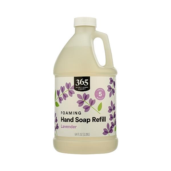Foaming Hand Soap Refill, Lavender, 64 fl oz 1
