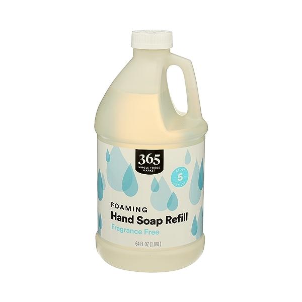 Foaming Hand Soap Refill, Fragrance Free, 64 fl oz 2