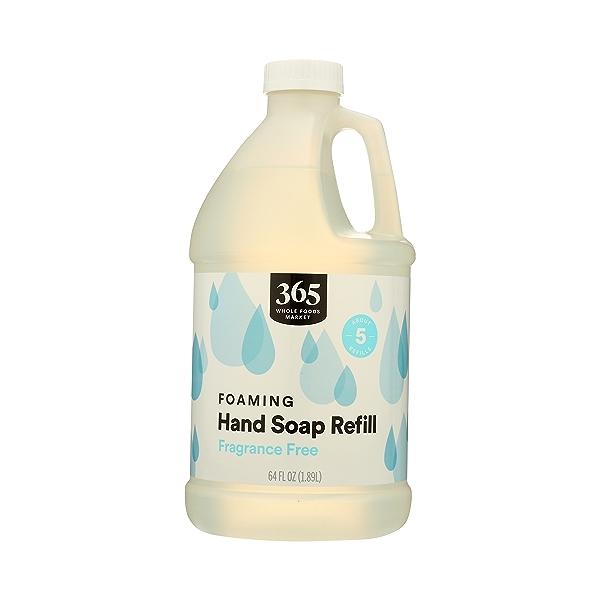 Foaming Hand Soap Refill, Fragrance Free, 64 fl oz 1