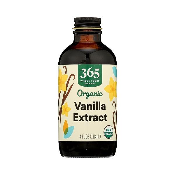Organic Seasonings, Vanilla Extract, 4 fl oz 3